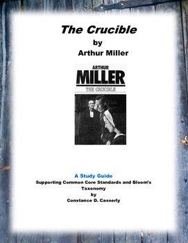 literature the crucible study guide essay topics teacher and  literature the crucible study guide unit planessay topicshigh