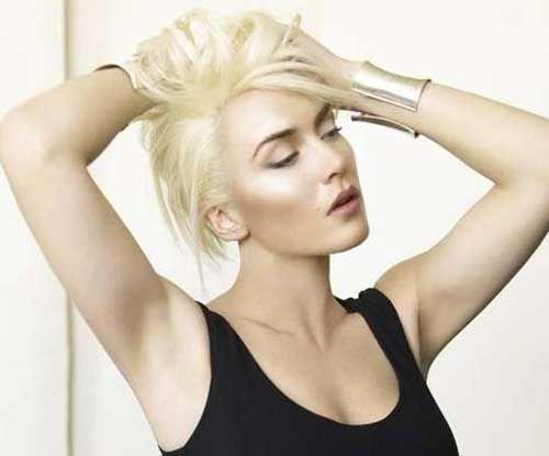 sexy Hochsteckfrisuren für kurzes Haar