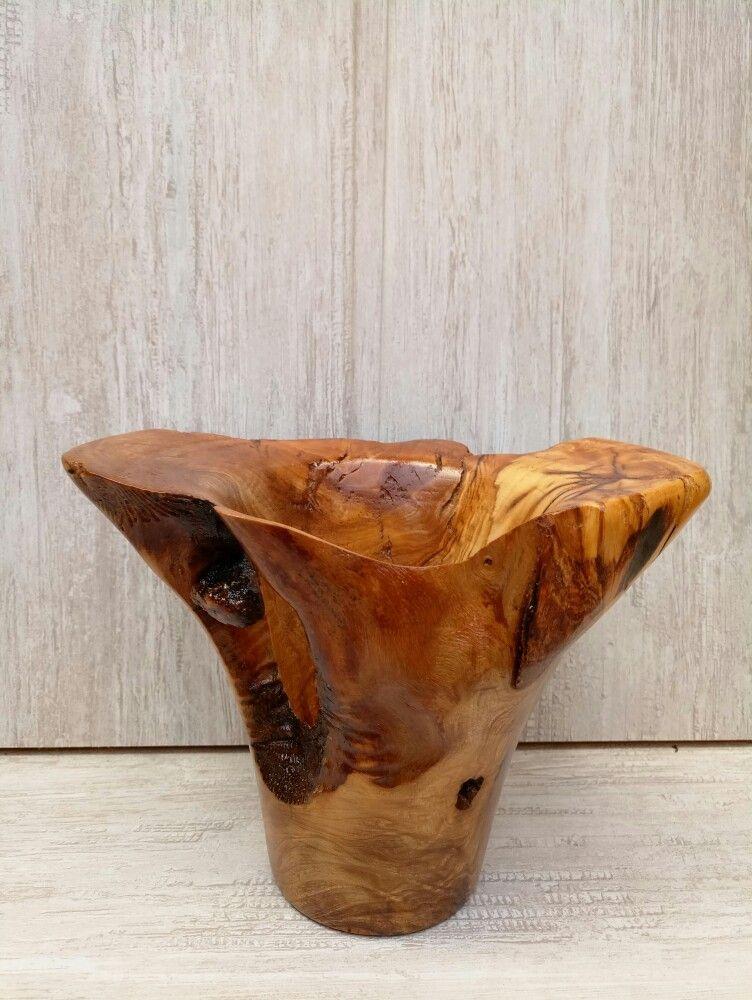 Pin By Bilgen Adil On Ahap Vazo Wood Turned Vase Pinterest