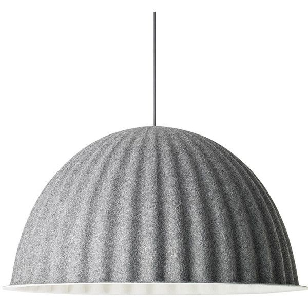 Muuto Under The Bell Lamp (€705) ❤ liked on Polyvore featuring home, lighting, ceiling lights, lights, interior design, lamps, black, black ceiling lights, black lamp and colored lights