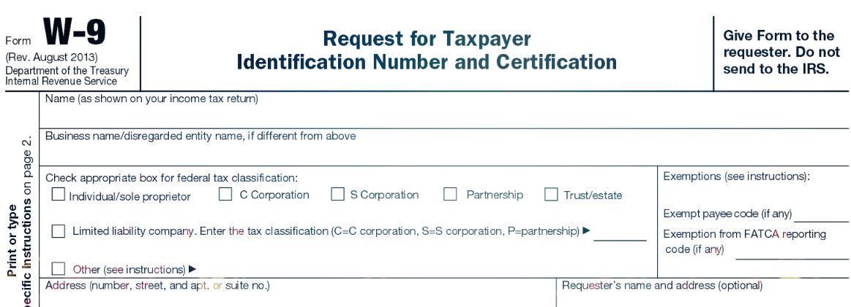 form w-9 2013 W-9 IRS Form 2013 Pinterest Irs forms