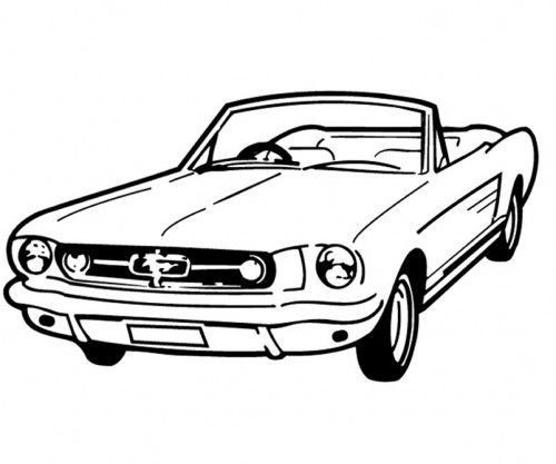 racing car good and cool coloring page digi st s pinterest 1992 Mustang Fastback racing car good and cool coloring page