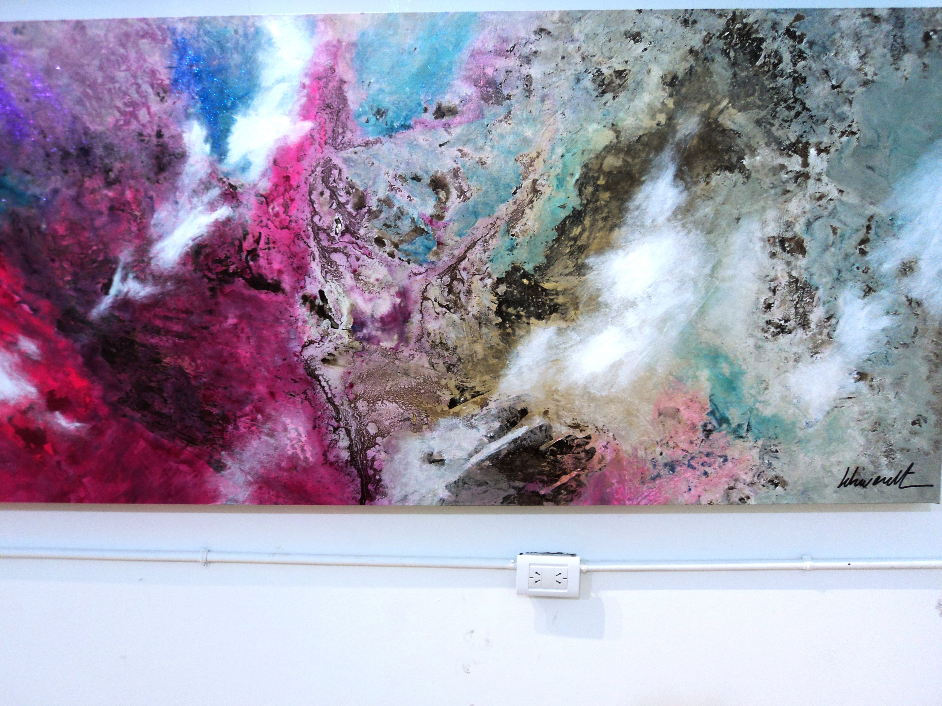 +Pintura abstracta. expo 2013. Desde el aire