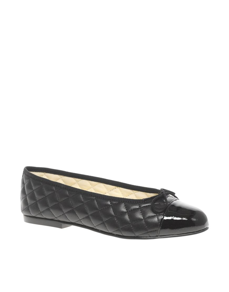 French Sole Simple Classic Quilted Ballet Flats | S H O E S ... : french sole quilted ballet flats - Adamdwight.com