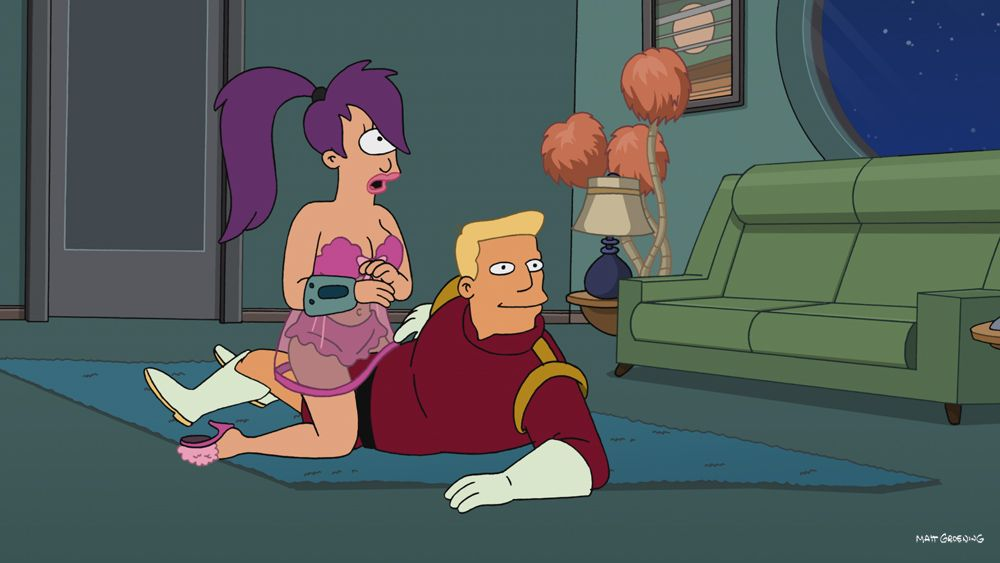 Futurama fry sex with robot