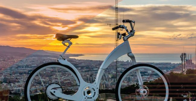 Introducing Gi Flybike The World S First Folding Electric Bike