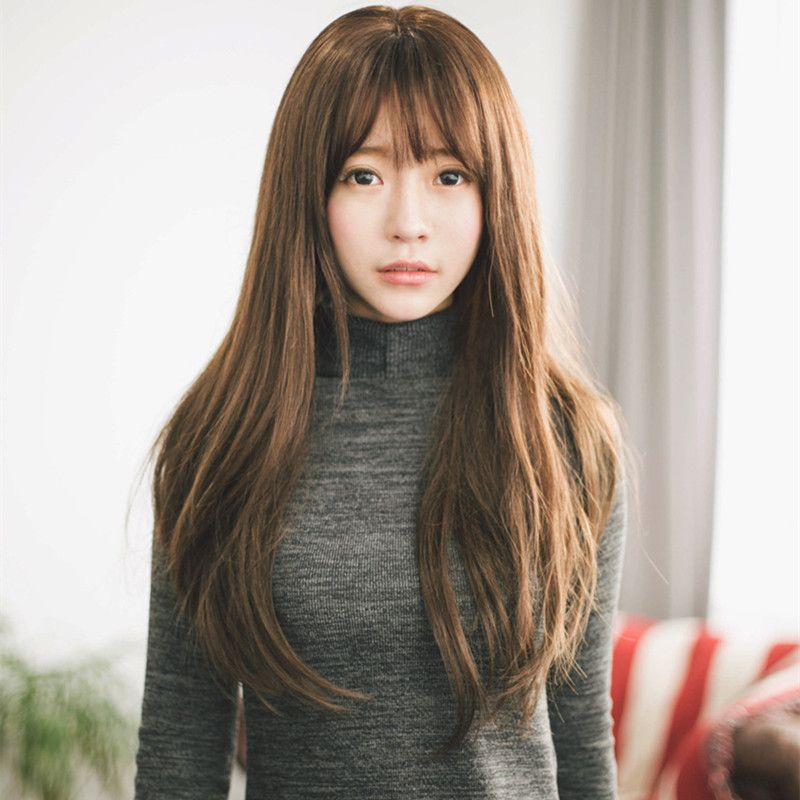 Bangs With A Wave Of Layers Hairstyles Jpg 800 800 Long Hair Styles Hair Styles Long Hair With Bangs
