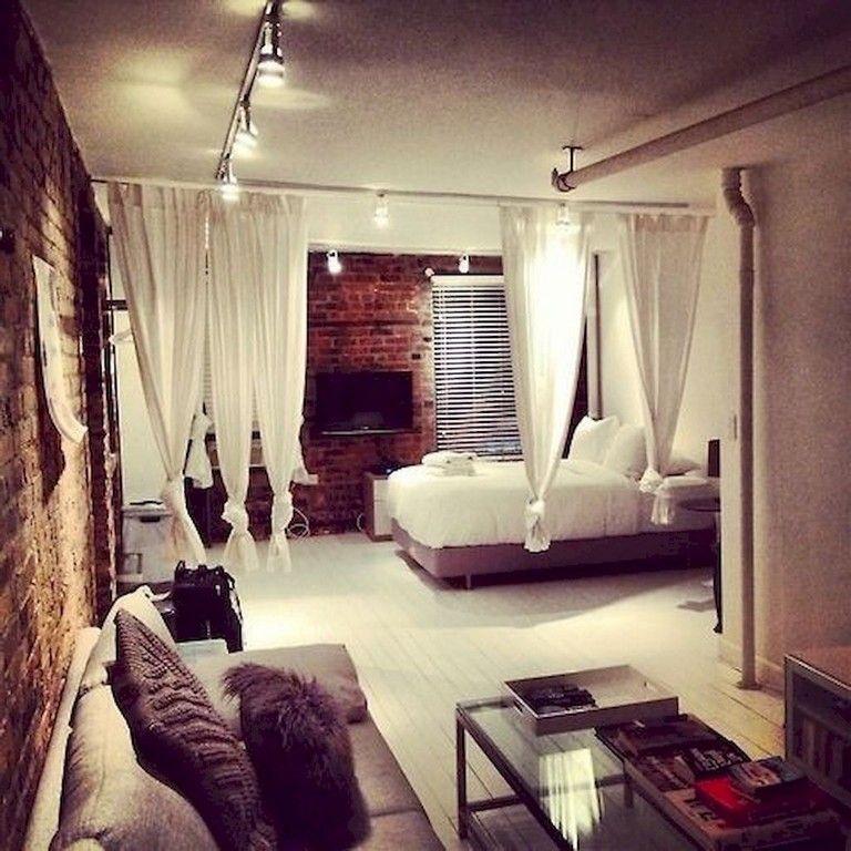Flat Apartment Definition: 80 Best Small Apartment Studio Decor Ideas On A Budget