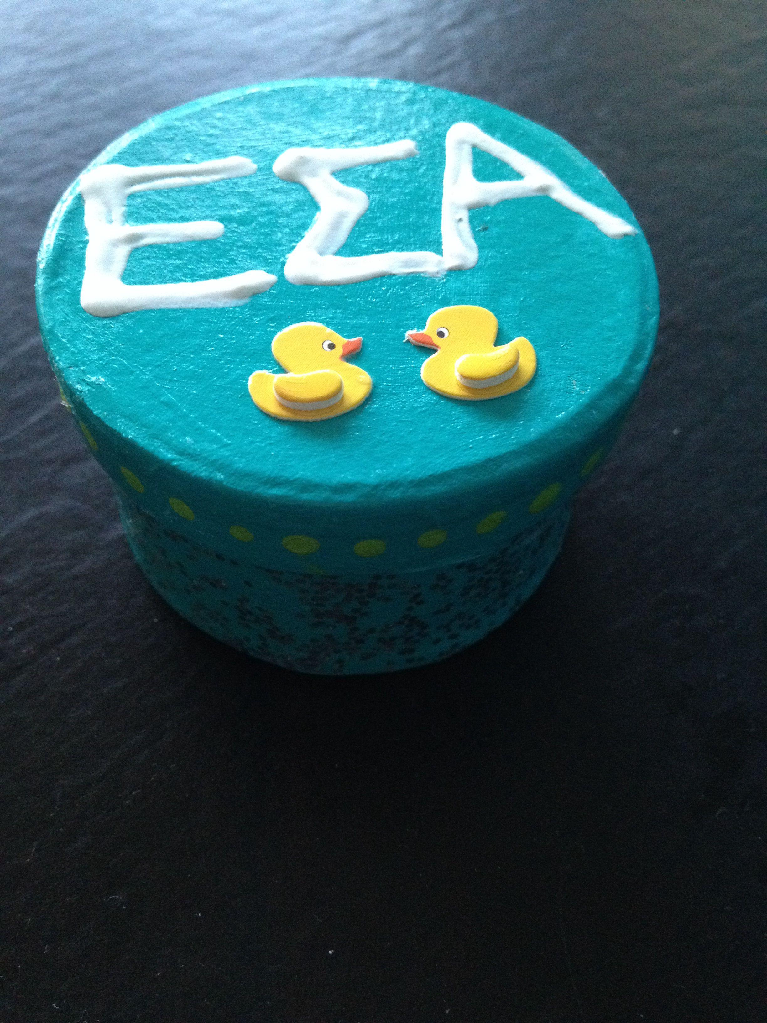 Pin box ESA Desserts, Pin box, Cake