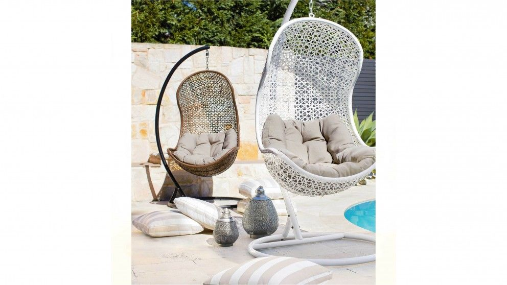 Havana Hanging Egg Chair Outdoor Lounges Harvey Norman Australia