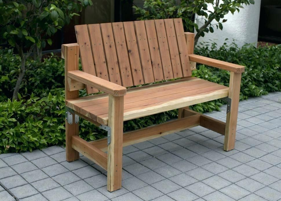 How To Make An Outdoor Bench Seat Lawn Furniture Bench Outdoor