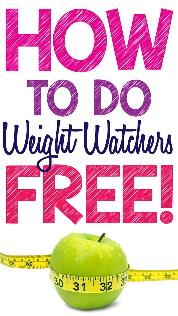 Do weight watchers for free