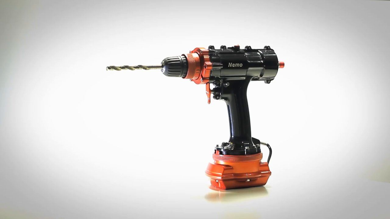 Nemo Power Tools mass-produced the world's first submersible, cordless drill.