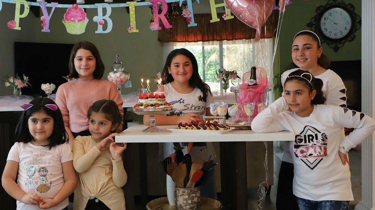 Sofia S Birthday Party Cooking Class Birthday Cooking Classes Heghin Party Cooking Class Birthday Cooking Classes