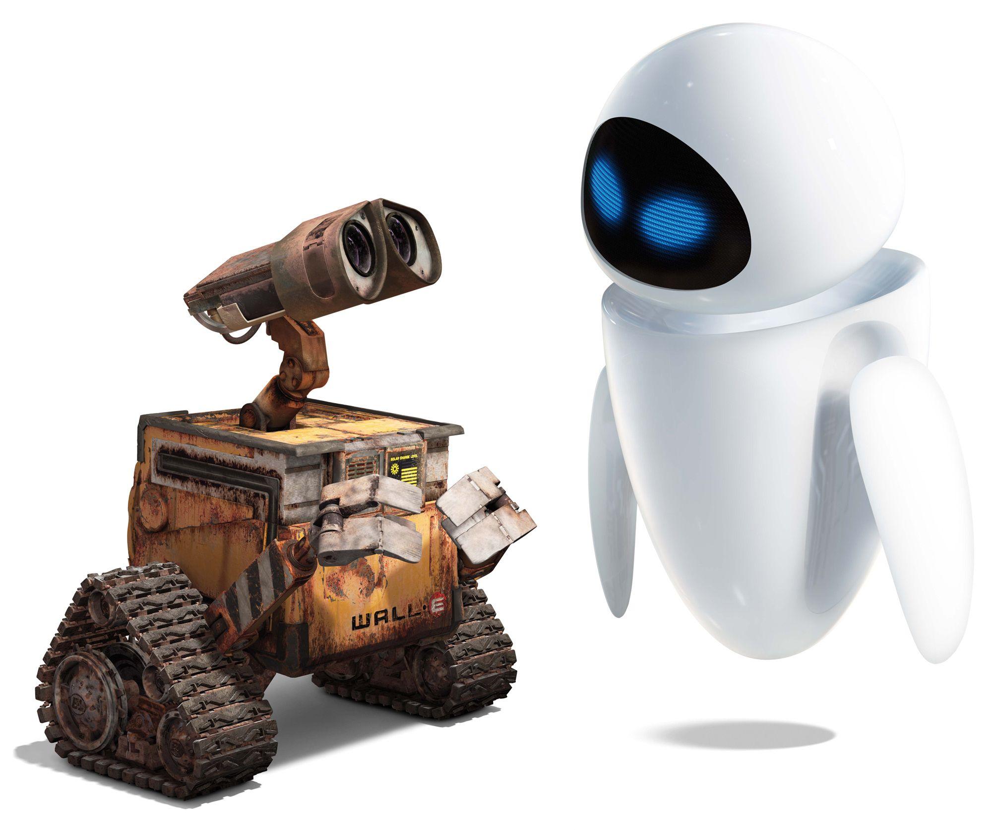 Download Wallpaper Cartoon White Robot Love Free Desktop Wallpaper In The Resolution 2000x1674 Picture 33 Wall E Peliculas Completas Imagenes De Monos