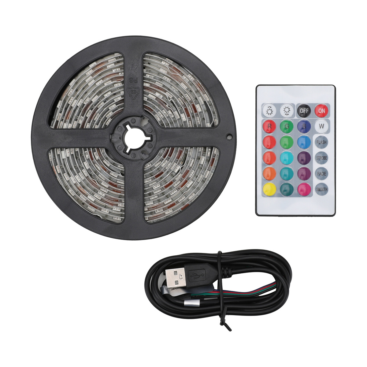 Led Strip Light With Remote 3m Cable Length Strip Lighting Led Strip Lighting Lighting Makeover