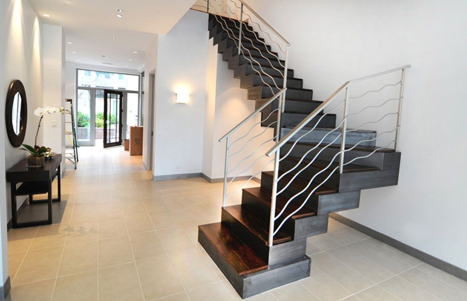 Best A Custom Built Modern Staircase Fabricated And Installed 400 x 300