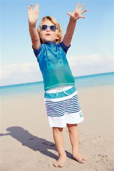 89f0a5a6a3 Two Piece Campervan Swim Sunsafe Set | boy kid swiming | Boys ...