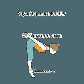 Diver Pose Yoga Yoga Sequences Benefits Variations And Sanskrit Pronunciation Tummee Com Standing Yoga Poses Standing Yoga Yoga Poses