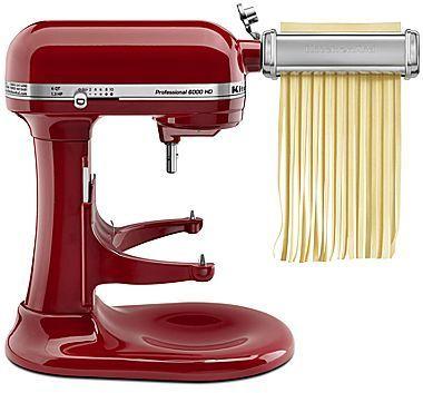 KitchenAid® 3-pc. Pasta Roller & Cutter Mixer Attachment Set