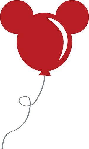 Mickey Balloon Cricut Pinterest Craft Cricut And