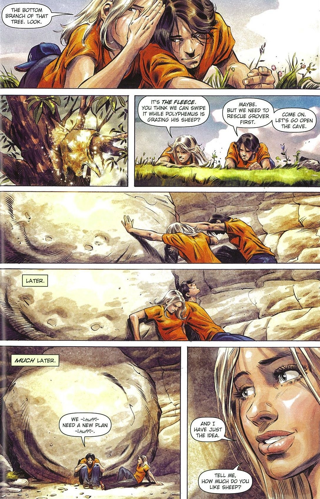 burdge on Tumblr |Percy Jackson Graphic Novel Annabeth
