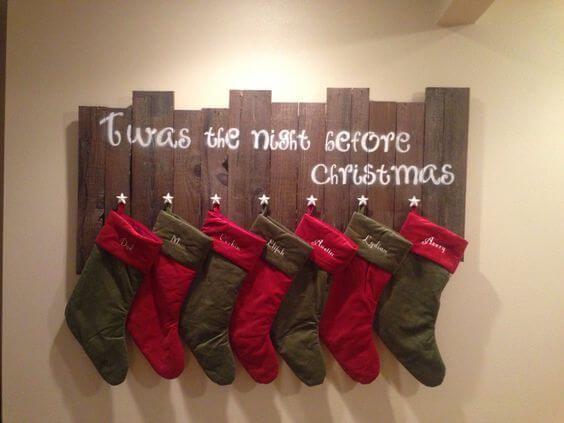 unfassbar sch ne diy bastelideen zu weihnachten mit einer europalette holzdeko. Black Bedroom Furniture Sets. Home Design Ideas
