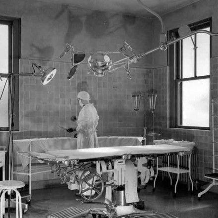 Hazelwood Sanatorium Operating Room Louisville Ky 1895