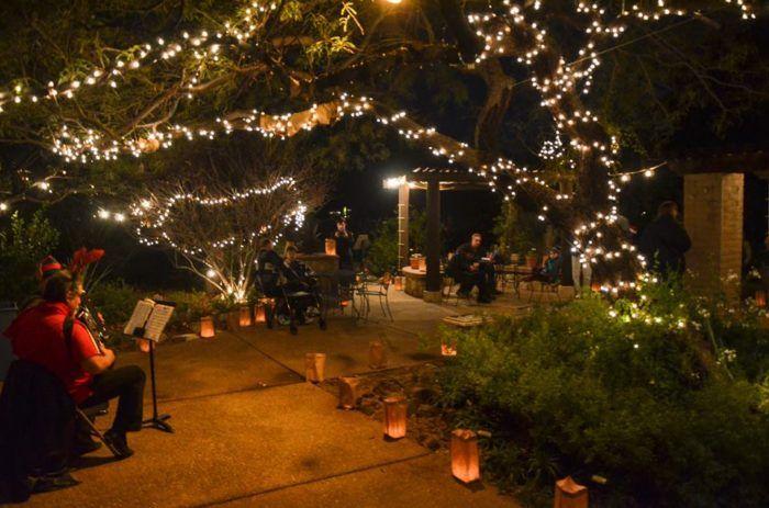 Tucson Botanical Gardens Luminaria Night 2019