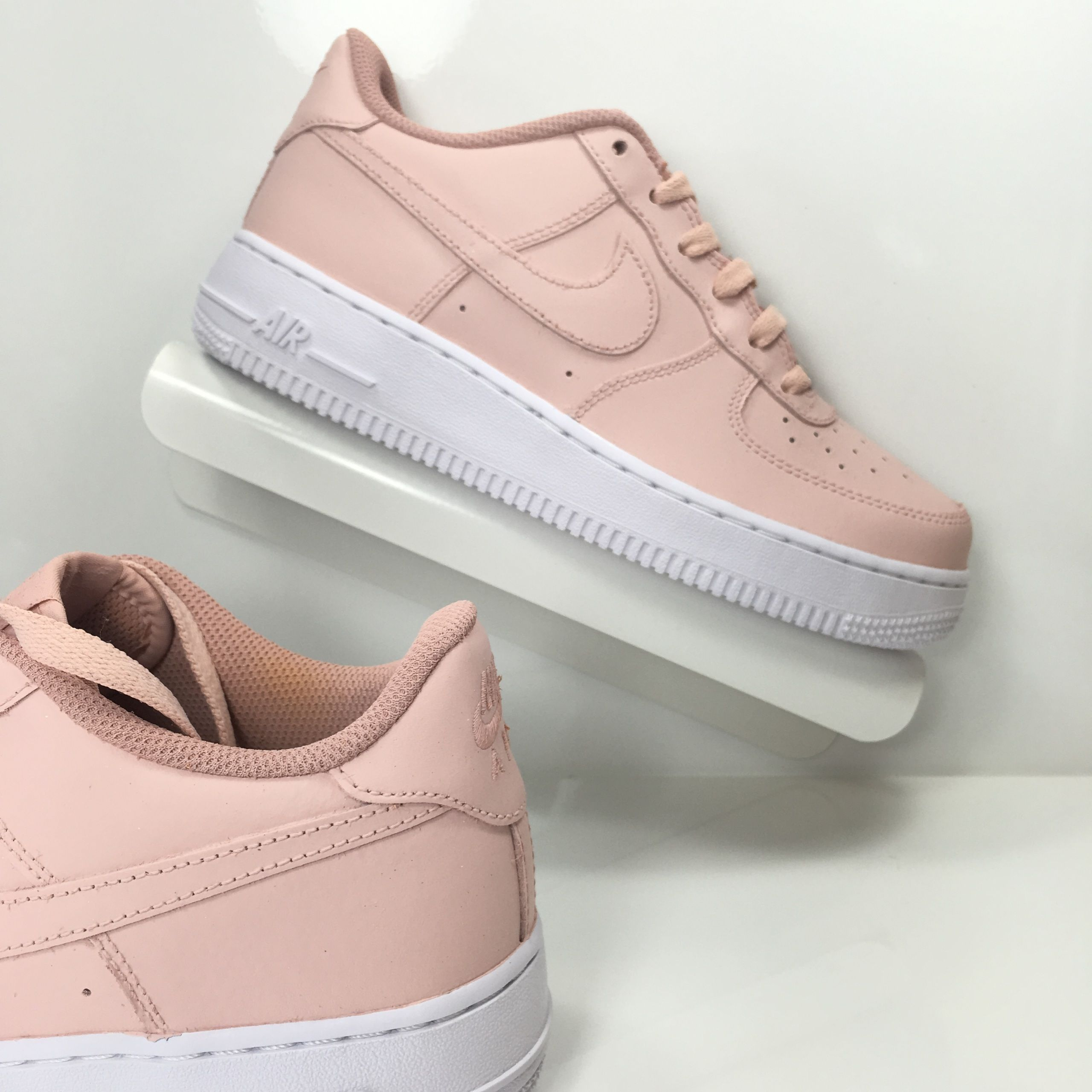 nike air force 1 pink and white ombre