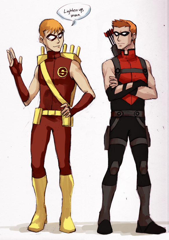 Yeah Young Justice's Speedy/Red Arrow is beyond annoying ...