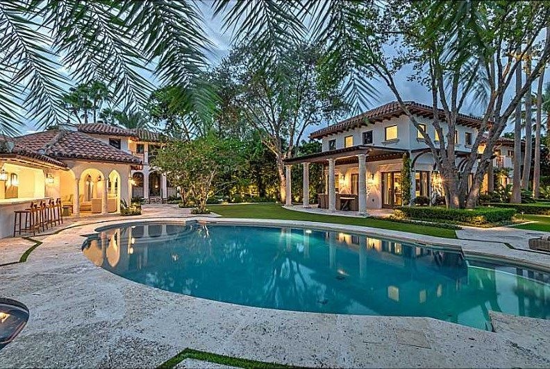 Striking Miami Beach Mediterranean Slashed By 4m Expensive Houses Miami Beach Mansion Miami Real Estate