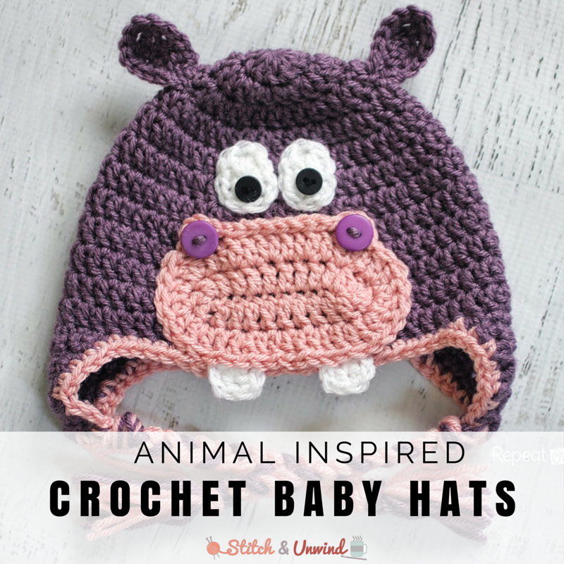 Old Fashioned Crochet Animal Hat Patterns Free Gift - Blanket ...