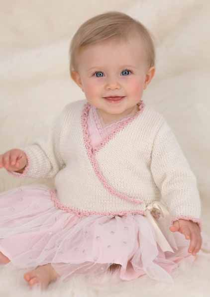 Knitting Pattern-Girls lace panel cardigan /& trousers pattern fits 0-3yrs in DK