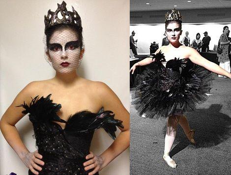 disfraces-caseros-halloween-cisne-negro