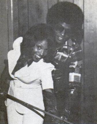 Jackie Jackson W His Then Girlfriend Debraca Foxx Redd Foxxs