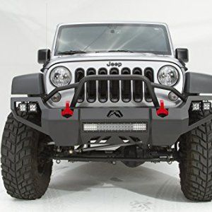Fab Fours Vengeance Front Bumper Jk Jeep With Pre Runner Guard