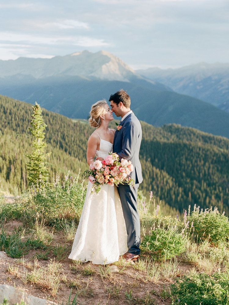 Letty + Scott's Aspen Wedding at The Little Nell White