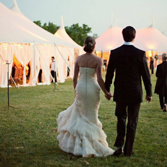 20 ingenious tips for throwing an outdoor wedding! (Photo Credit: Patricia Lyons via Easton Events)