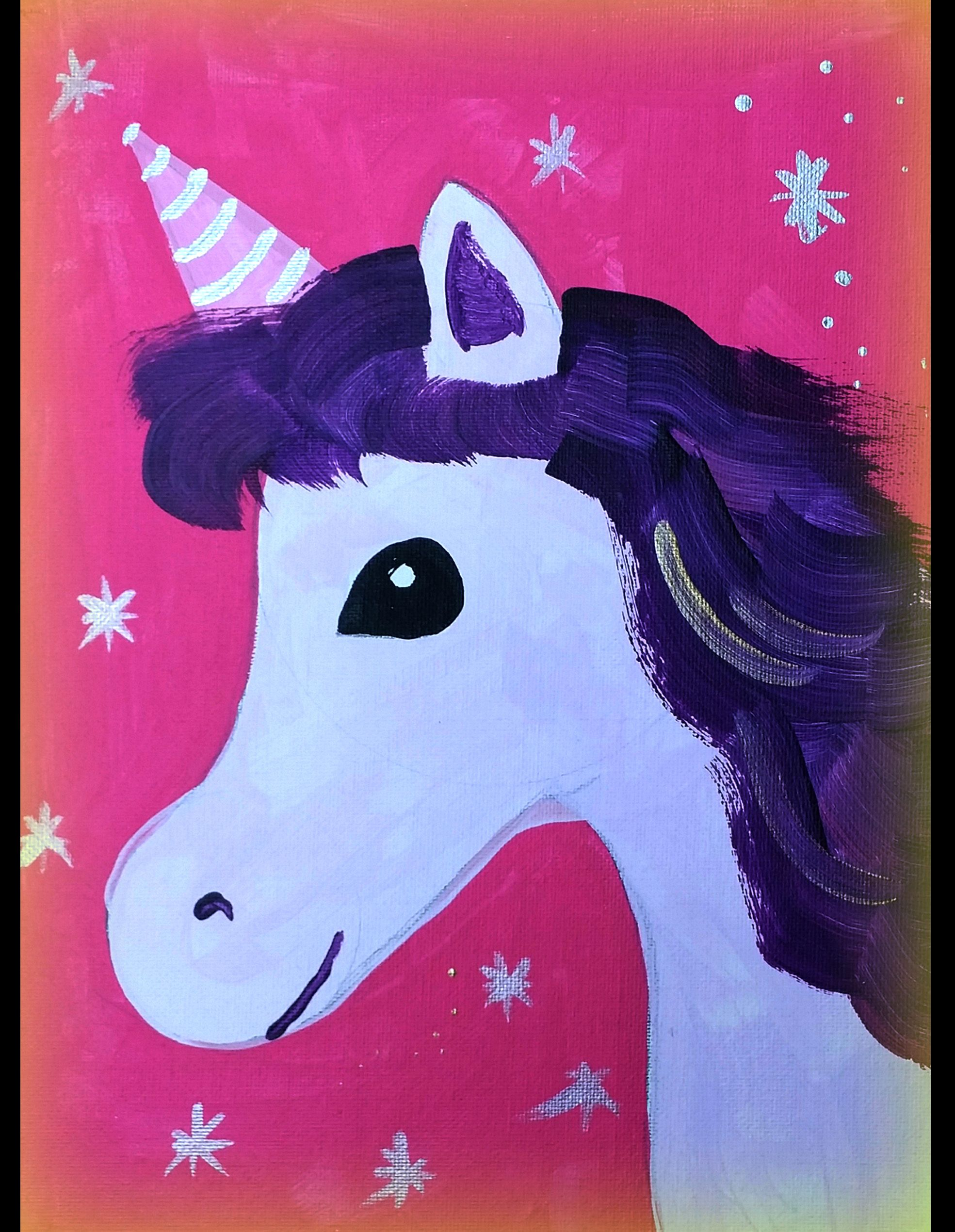 Easy unicorn painting | Birthday Party ideas in 2019 | Easy