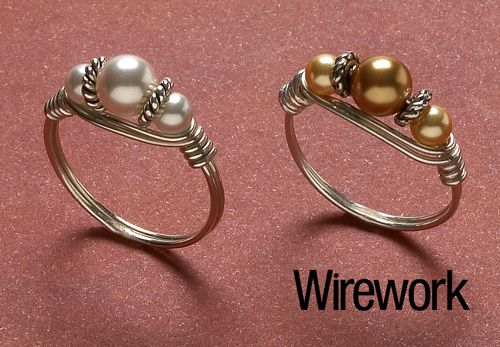 Classic pearl ring - Jewelry Store