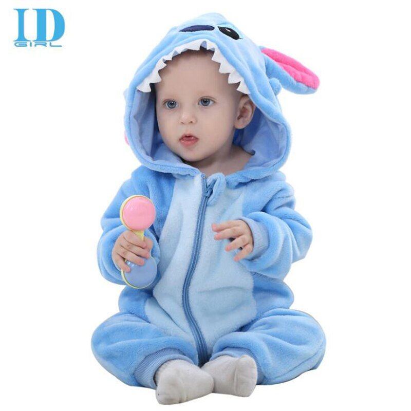 IDGIRL Hood Infant Romper