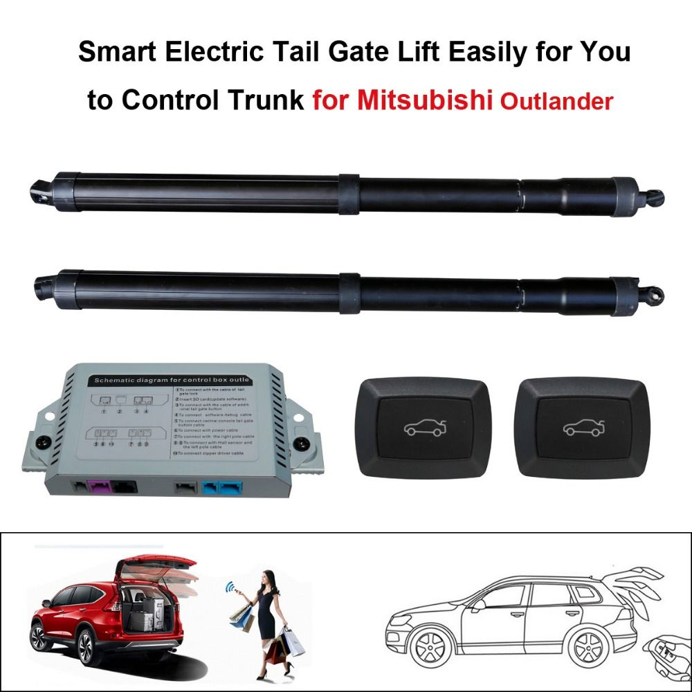Smart Auto Electric Tail Gate Lift For Mitsubishi Outlander Control By Remote Drive Seat Tail Gate Button With Electric Suct Smart Auto Tailgating Kia Sportage