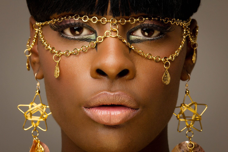 Unique face jewelry face head body leg chain face piece for Unique one