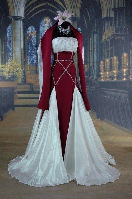 Medieval wedding dress At: http://weddingsocialnetworking.blogspot ...