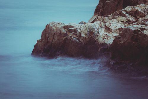 watch the waves crashing