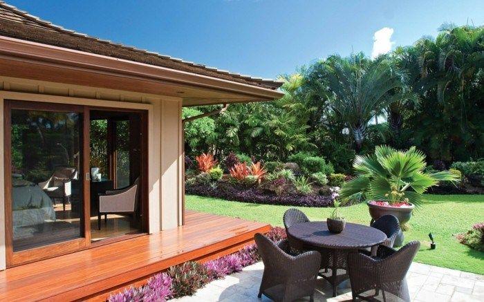 Aménagement jardin avec une touche du0027exotisme- 50 photos - amenagement jardin avec spa