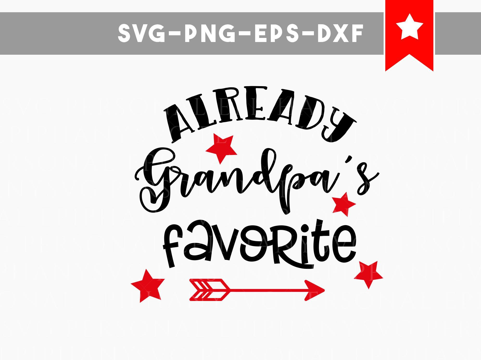 grandpas favorite svg, funny onesie svg, baby onesie svg