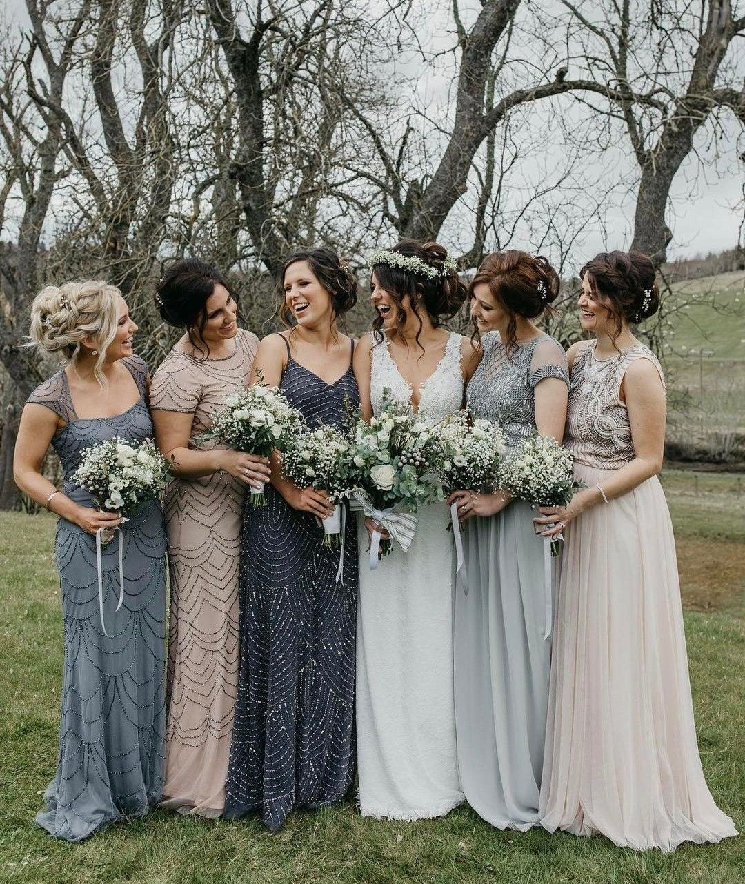 Pin On Bridesmaid Dresses Bouquets