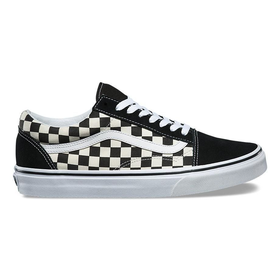 VANS PRIMARY CHECK OLD SKOOL UNISEX SNEAKERS